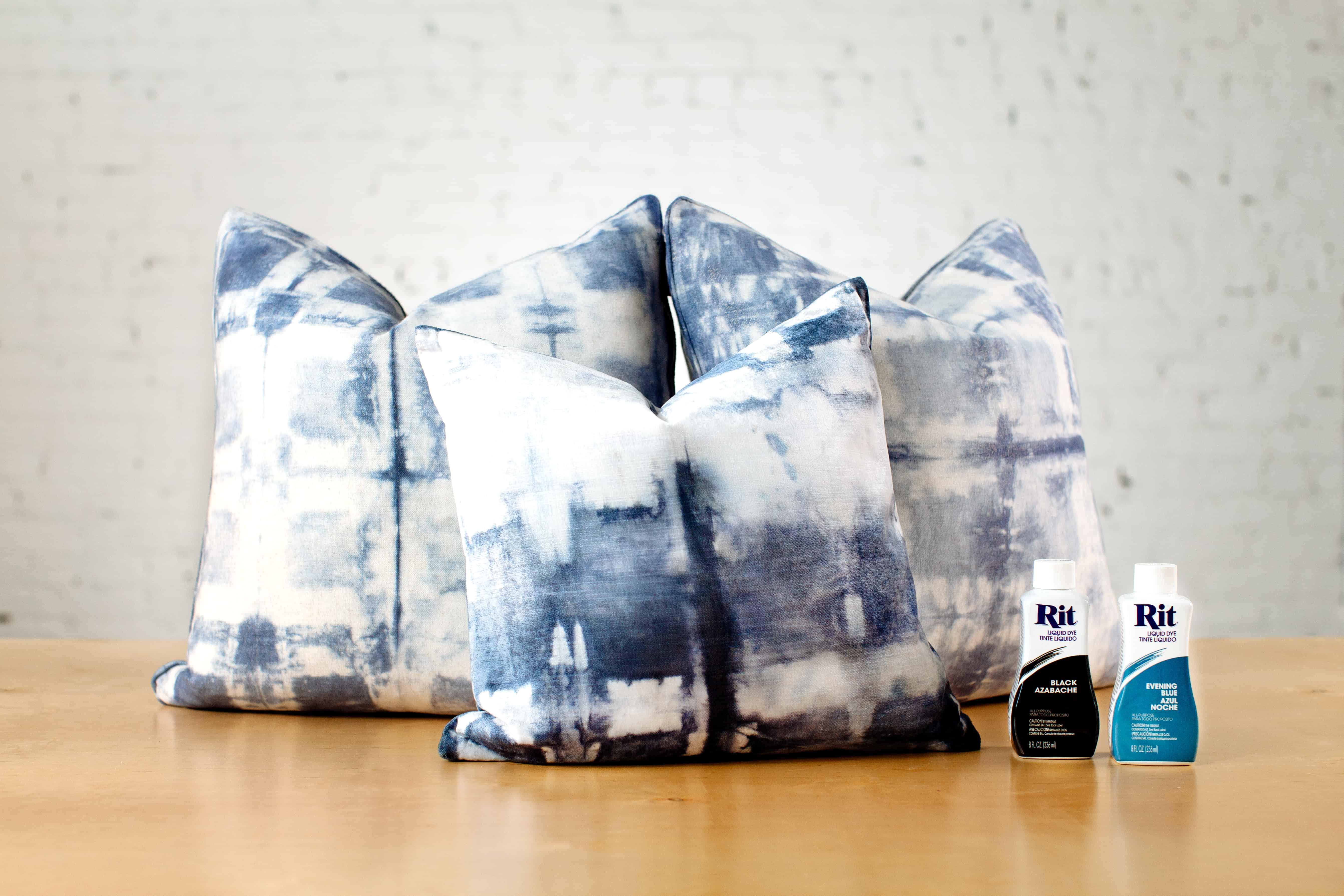 Rit dye clothes fabric dye polyester dye color library shibori dyed velvet pillow covers nvjuhfo Gallery