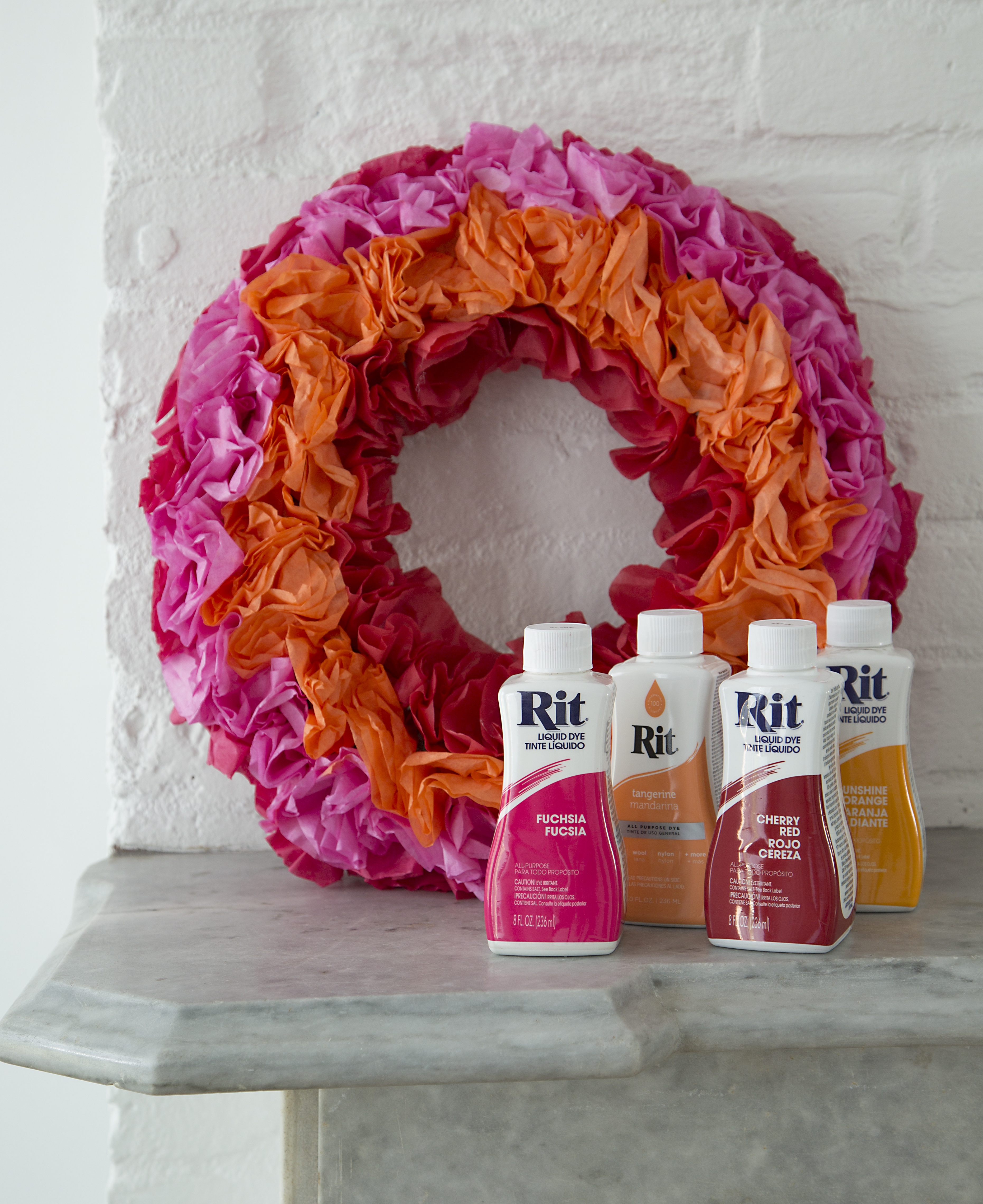 Rit dye clothes fabric dye polyester dye color library dyed coffee filter wreath nvjuhfo Gallery