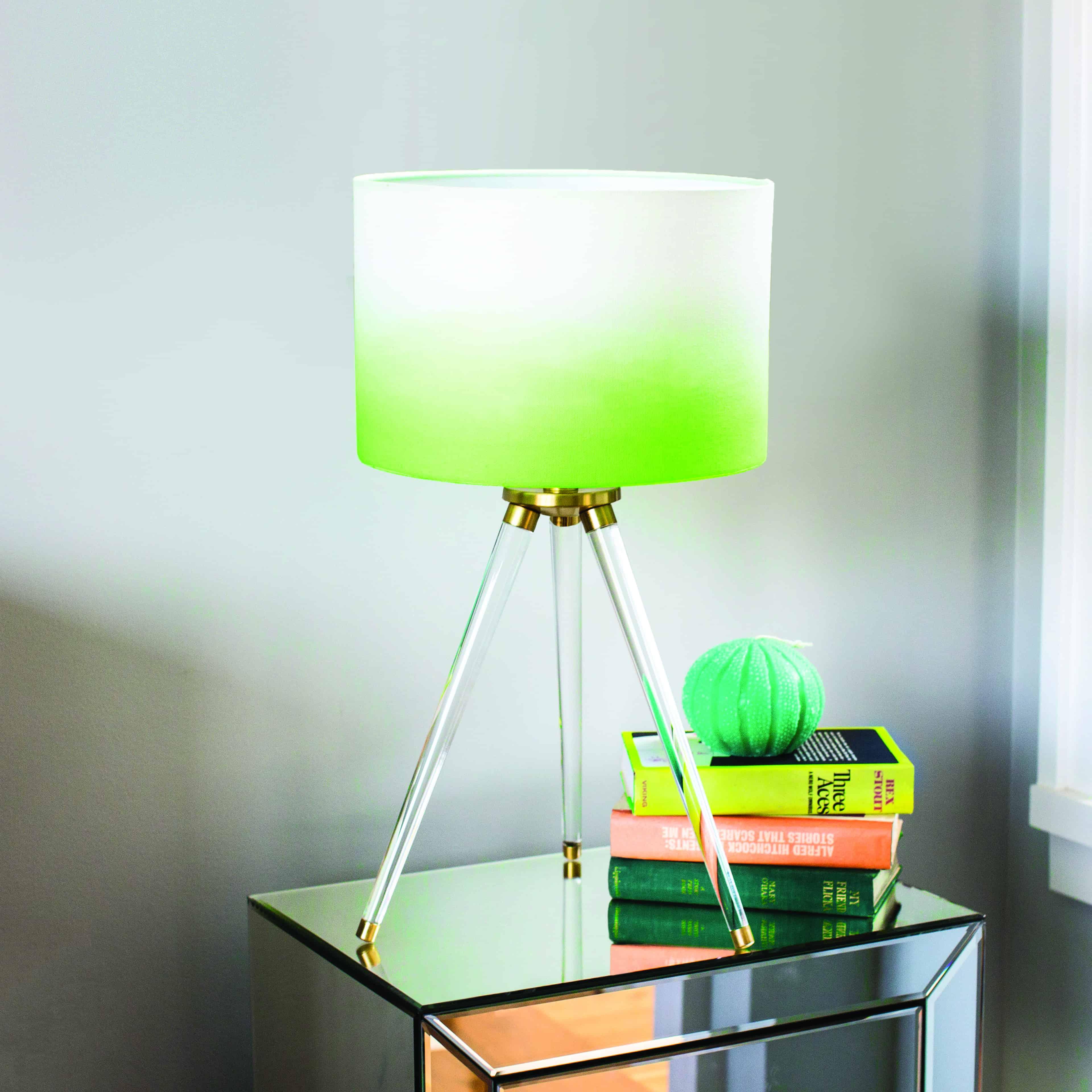 Dip Dyed Lamp Shade