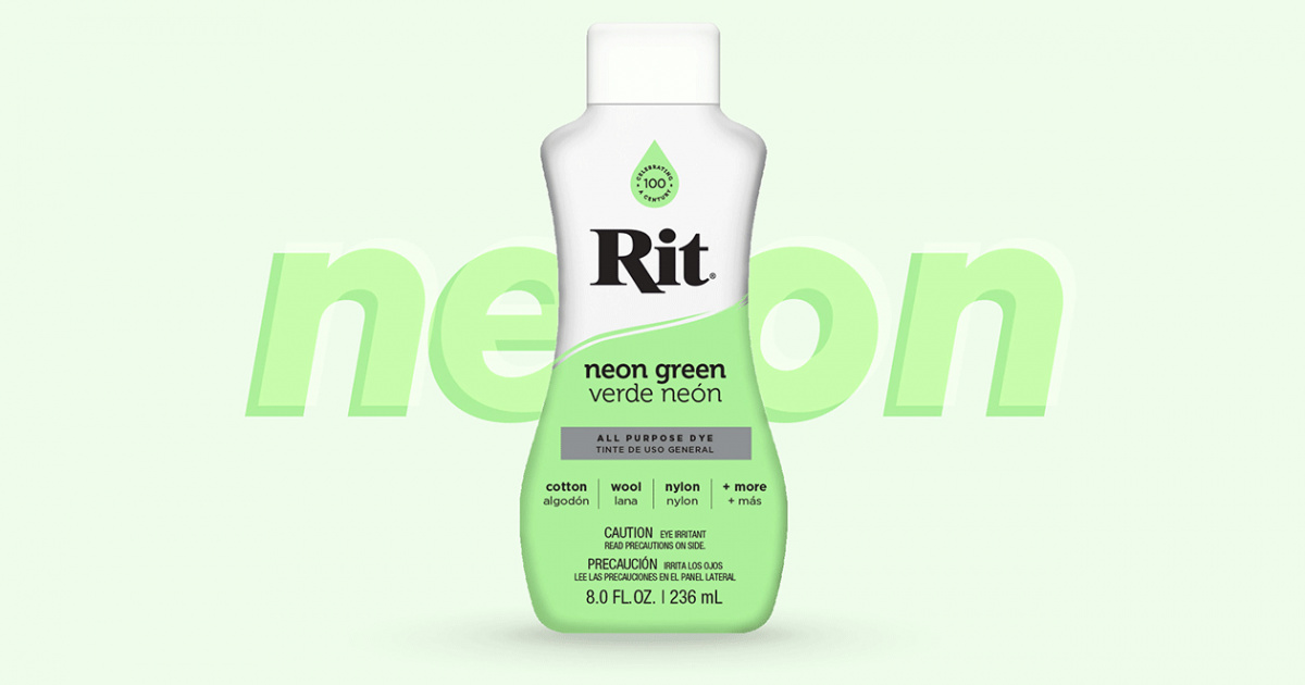 Introducing Neons Rit Dye