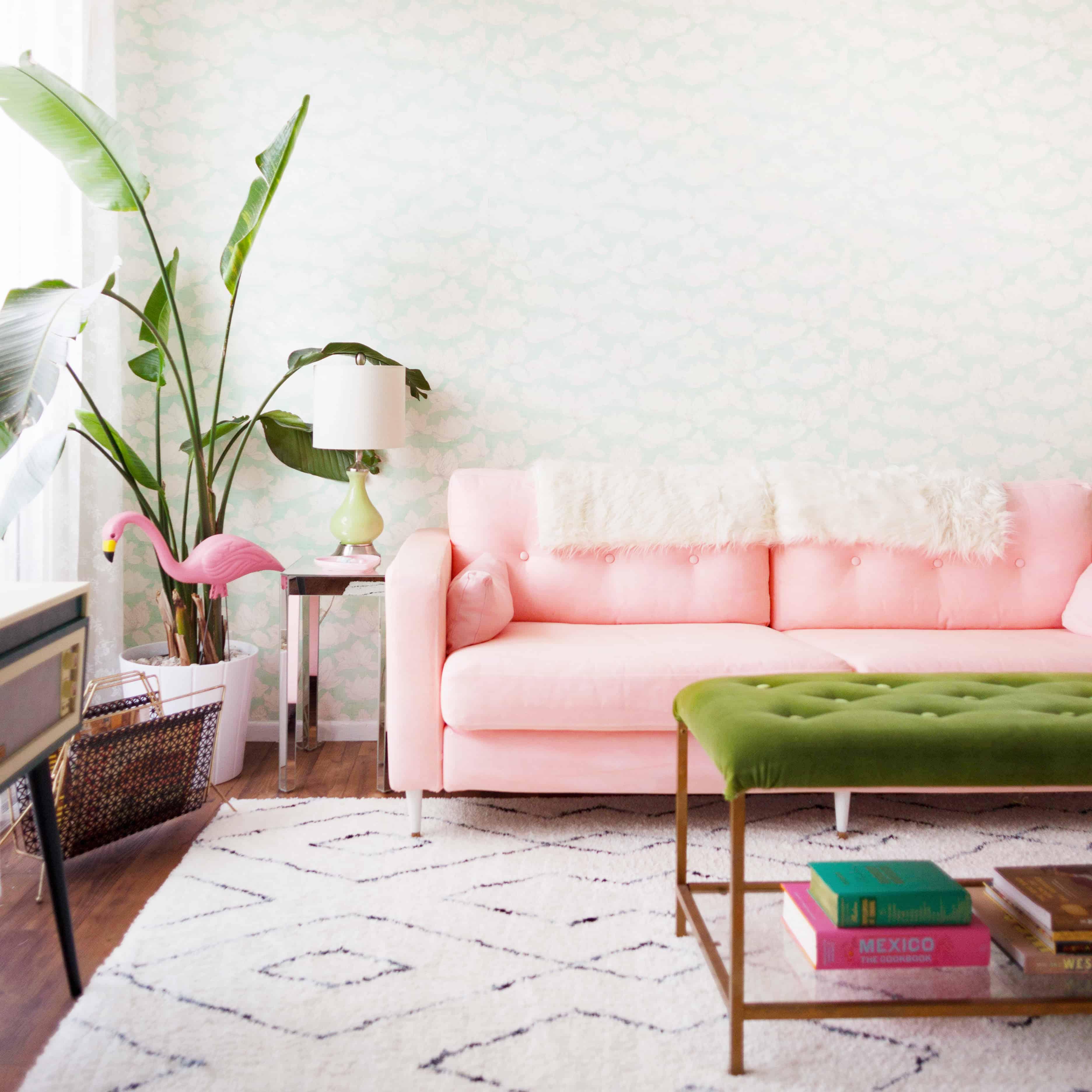 Dyed IKEA Sofa Slipcover