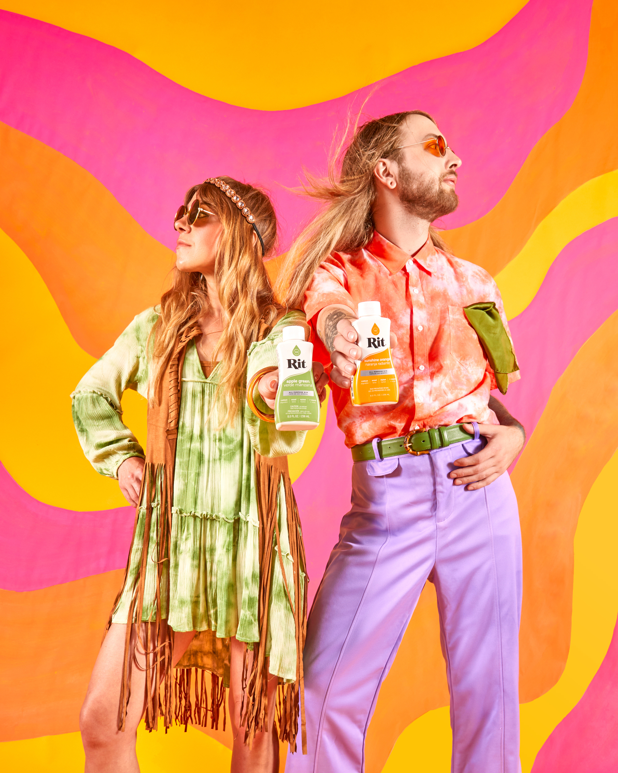 Hippie Couples Costume